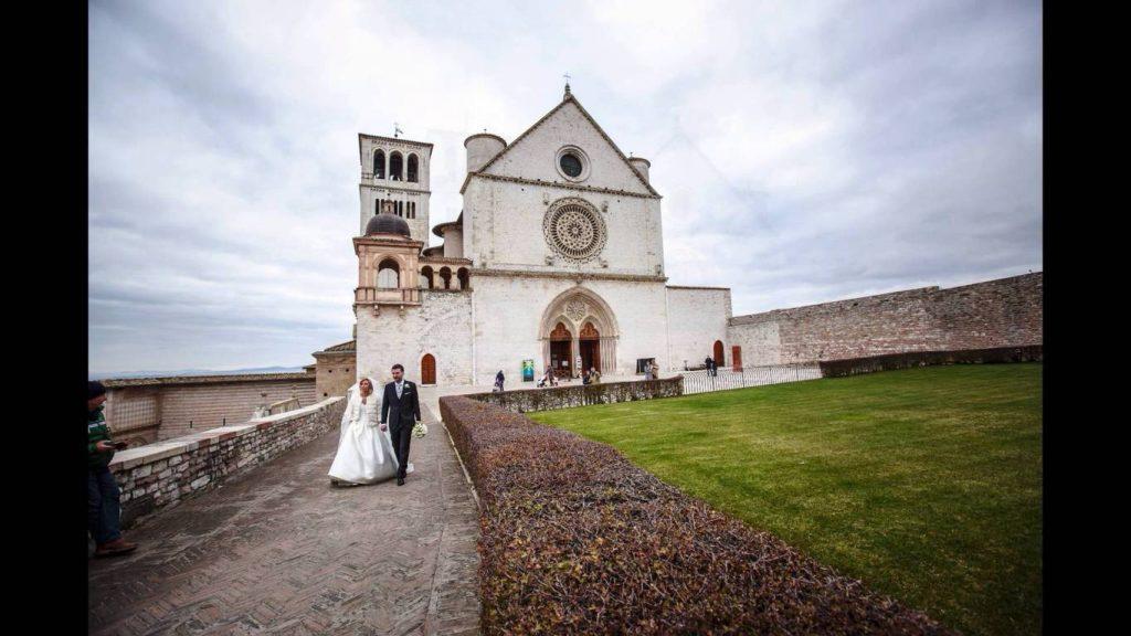 Sposi Basilica San Francesco Assisi