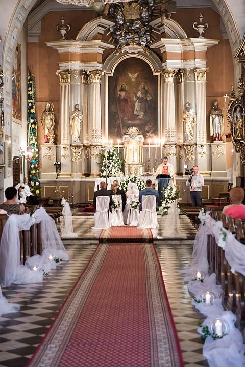 fiori matrimonio chiesa
